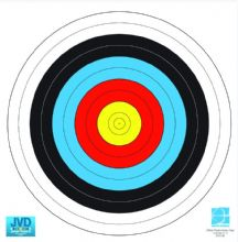 80cm FITA Approved Archery Target Faces - Qtys 5/10/20/50/100